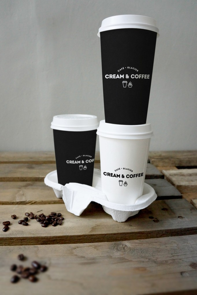 06_three coffee cup tower mockup