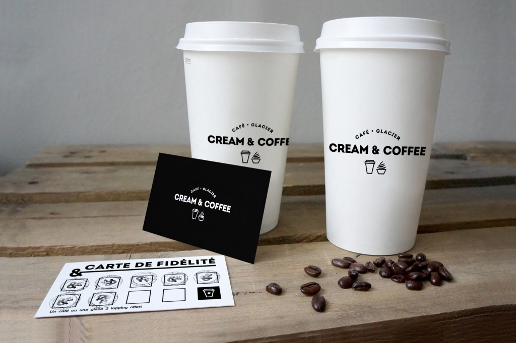 07_two coffee cups and cards mockup