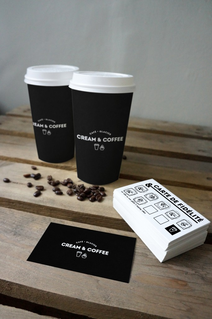 08_two coffee cups and cards mockup